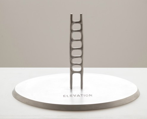 Elevation 2008.limited edition,cast aluminum ∙ 125 × 13 × 32 cm photo D.Blazevic